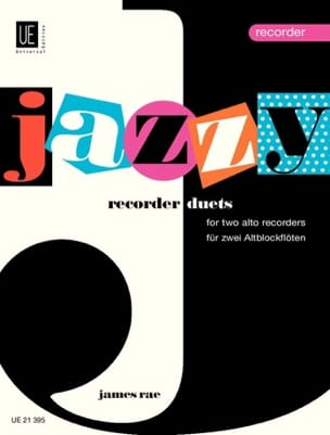 James Rae - Jazzy recorder Duets - Partition - di-arezzo.fr