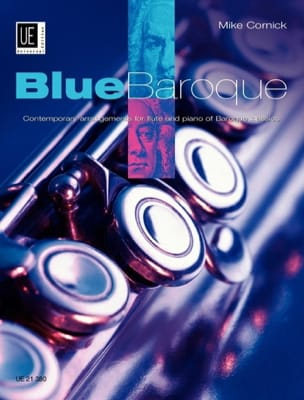 Mike Cornick - Blue Baroque – Flute piano - Partition - di-arezzo.fr