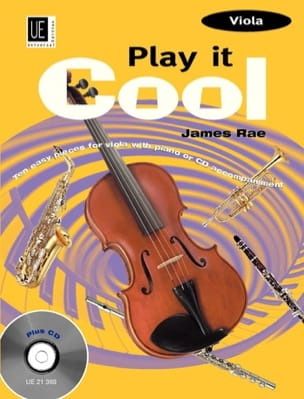 James Rae - Play it cool – Viola - Partition - di-arezzo.fr