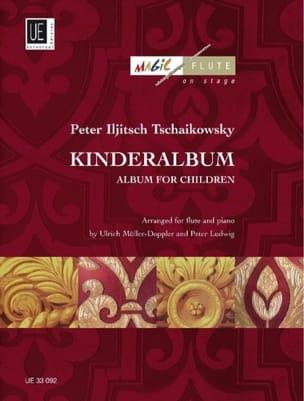Piotr Illitch Tchaïkovski - Kinderalbum – Flöte Klavier - Partition - di-arezzo.fr