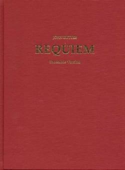 John Rutter - Requiem Score, Chamber Ensemble With Organ - Partition - di-arezzo.fr