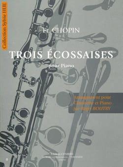 3 Ecossaises - Clarinette - laflutedepan.com