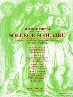 Solfège scolaire – Volume 2 - Maurice Chevais - laflutedepan.com