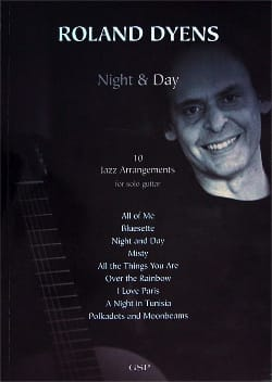 Roland Dyens - Night & Day (10 Jazz Arrangements) - Partition - di-arezzo.fr