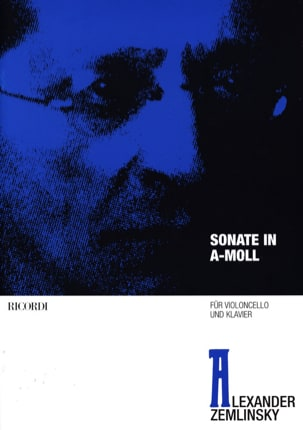 Alexander von Zemlinsky - Sonate En la Mineur - Partition - di-arezzo.fr