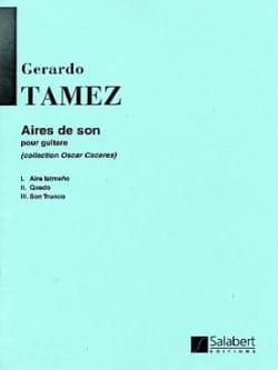 Gerardo Tamez - Sound Areas - Sheet Music - di-arezzo.co.uk