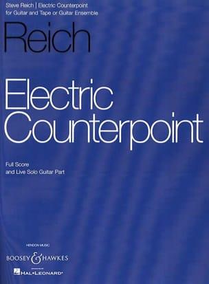 Steve Reich - Electric Counterpoint - score + solo part - Partition - di-arezzo.fr