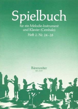 Martin Gümbel - Spielbuch - Heft 2 (Nr. 24-28) – Melodie-Instrument u. Klavier - Partition - di-arezzo.fr