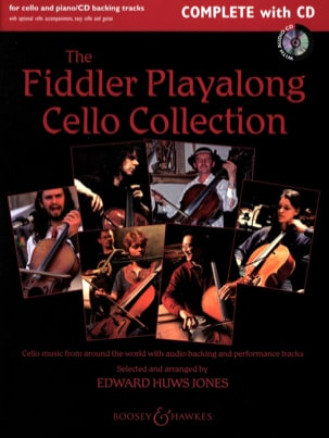 The Fiddler Playalong Cello Collection Jones Edward Huws laflutedepan