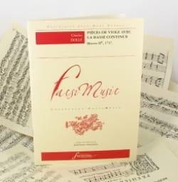 Charles Dollé - Pièces de viole avec basse continue op. 2 - Partition - di-arezzo.fr