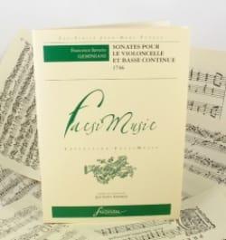 Francesco Saverio Geminiani - Sonaten für Cello und Basso continuo - Noten - di-arezzo.de