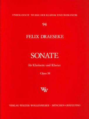 Félix Draeseke - B-Dur Sonate, Opus 38 - Klarinette / Klavier - Noten - di-arezzo.de