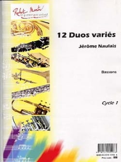 Jérôme Naulais - 12 Various Duets - Sheet Music - di-arezzo.co.uk