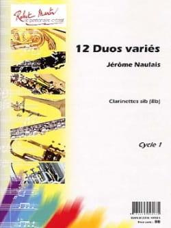 Jérôme Naulais - 12 vari duetti - Partitura - di-arezzo.it