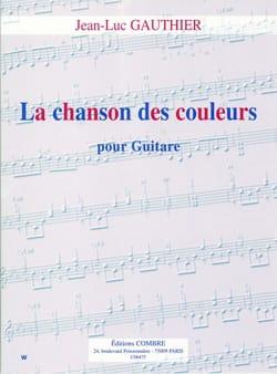 La chanson des couleurs - Jean-Luc Gauthier - laflutedepan.com