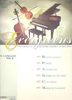 - Evergreens - In Concert Vol.2 - Sheet Music - di-arezzo.co.uk