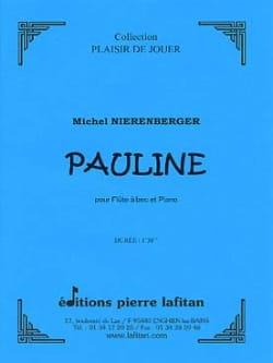 Michel Nierenberger - Pauline - Partition - di-arezzo.fr