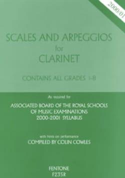 Scales and Arpeggios - Volume 1 : Grades 1.2.3 - laflutedepan.com