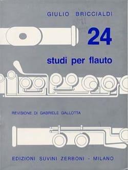 24 Studi Per Flauto - Giulio Briccialdi - Partition - laflutedepan.com