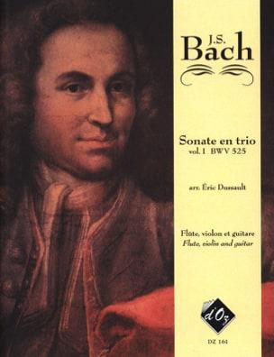 BACH - 6 Sonates En Trio Volume 1 Bwv 525 - Partition - di-arezzo.fr