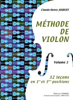 Claude-Henry Joubert - Violin Method Volume 2 - Sheet Music - di-arezzo.com