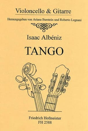 Isaac Albeniz - Tango - cello and guitar - Sheet Music - di-arezzo.com