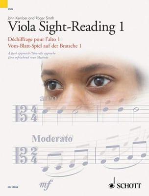 Kember John / Smith Roger - Viola Sight-Reading - 1 - Partition - di-arezzo.fr