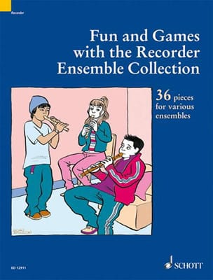 - Fun And Games With The Recorder Ensemble Collection - Partition - di-arezzo.fr