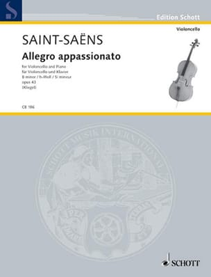 Camille Saint-Saëns - Allegro Appassionato In Si Min.Op.43 - Sheet Music - di-arezzo.co.uk