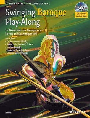 Alexander L'Estrange - Swinging Baroque Play-Along for Violon - Partition - di-arezzo.fr