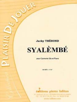 Jacky Therond - Syalèmbé - Partition - di-arezzo.fr