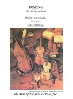 Rondino Op 32 N°2 - Henri Vieuxtemps - Partition - laflutedepan.com