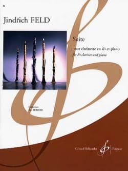 Jindrich Feld - Suite for clarinet - Sheet Music - di-arezzo.co.uk