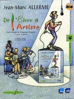 Jean-Marc Allerme - De l'Elève à l'Artiste - Volume 4 - Prof - Partition - di-arezzo.fr