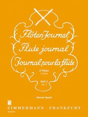 - Journal Pour la Flûte Vol.3 - Partition - di-arezzo.fr