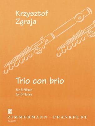 Krzysztof Zgraja - Trio Con Brio - Partition - di-arezzo.fr