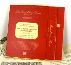 (Le Romain) Jacques-Martin Hotteterre - Pieces for the flute - First Book - Sheet Music - di-arezzo.com