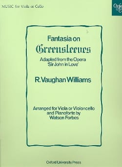 Williams Ralph Vaughan - Fantasia On Greensleeves - Sheet Music - di-arezzo.com