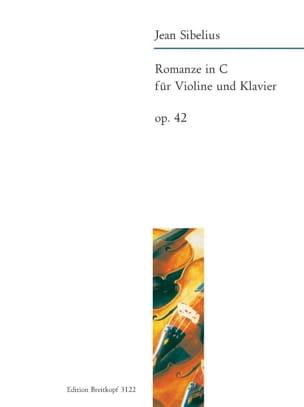 Romance En Do Majeur Op. 42 - Jean Sibelius - laflutedepan.com