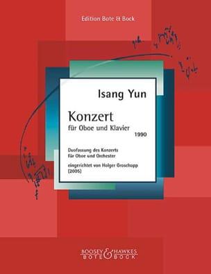 Konzert für Oboe und Klavier (1990) - Isang Yun - laflutedepan.com