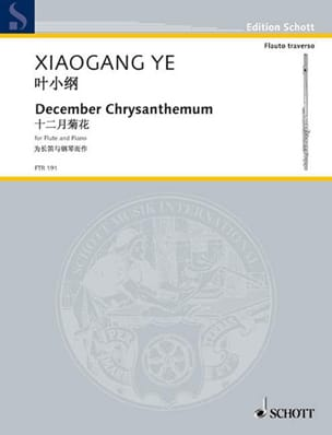 Xiaogang Ye - December Chrysanthemum - Partition - di-arezzo.fr