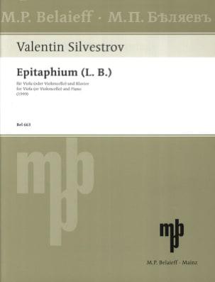 Epitaphium (L. B.) –Viola (o. Violoncello) Klavier - laflutedepan.com