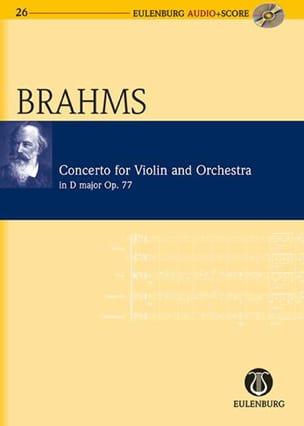 Johannes Brahms - Concerto Pour Violon Op. 77 En Ré Majeur - Partition - di-arezzo.fr