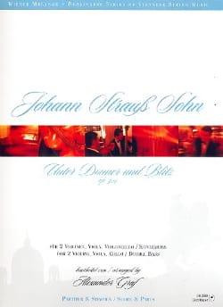 Unter Donner und Blitz op. 324 -2 Vln Va V/Kb - Paritur + Stimmen laflutedepan
