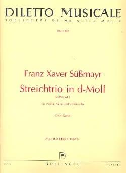 Franz Xaver Süssmayr - Streichtrio d-moll SmWV 613 -Partitur + Stimmen - Partition - di-arezzo.fr