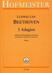 BEETHOVEN - 3 Adagios - Sheet Music - di-arezzo.co.uk