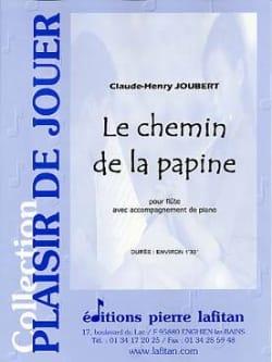 Claude-Henry Joubert - Le Chemin de la Papine - Partition - di-arezzo.fr
