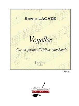 Sophie Lacaze - vowels - Sheet Music - di-arezzo.co.uk