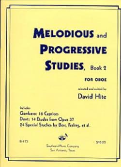 David Hite - 53 Melodious Etudes, Book 2 - Oboe - Partition - di-arezzo.fr