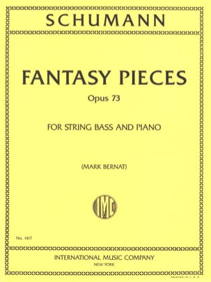 Fantasy Pieces Op.73 - SCHUMANN - Partition - laflutedepan.com